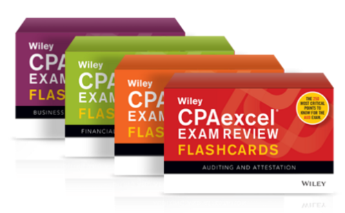Wiley CPAexcel flashcards