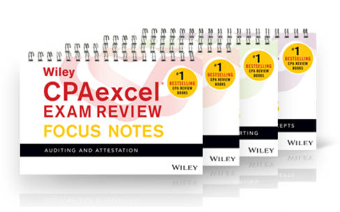 Wiley CPAexcel notes
