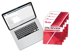 gleim cpa review course test bank