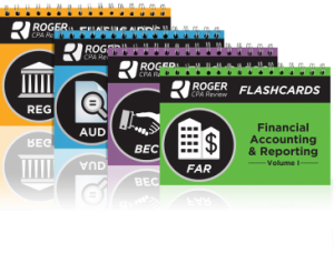 roger cpa review course flashcards
