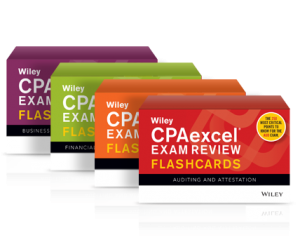 wiley cpa review course flashcards