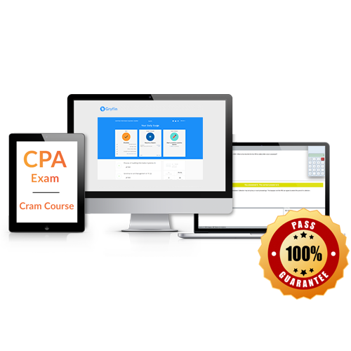 Top 10 best cpa review courses 2018 cpa study materials compared 2 gryfin cpa cram course fandeluxe Image collections