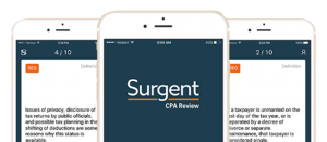 surgent cpa review course mobile app
