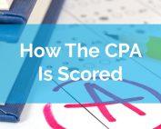 cpa exam scoring