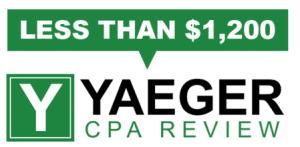 yaeger cpa review course