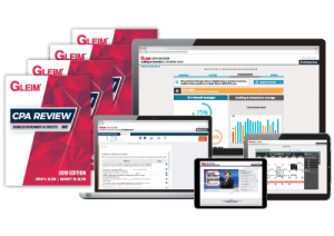 gleim cpa software online course