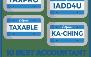 10 Best Accountant Vanity Plates