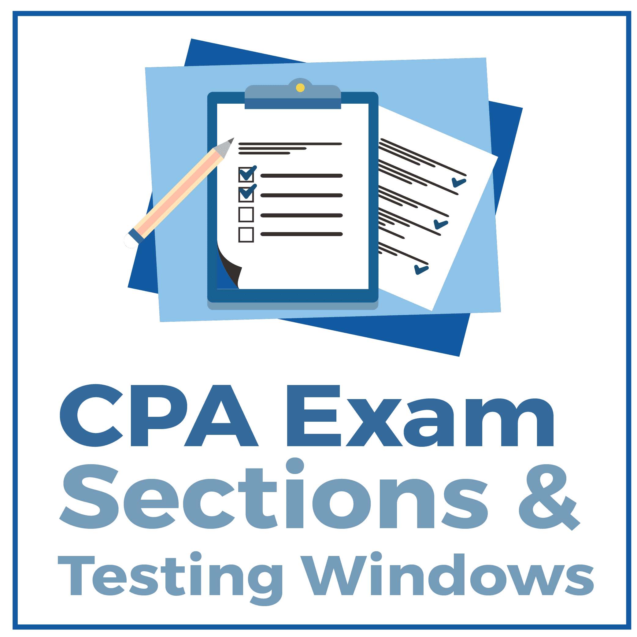CPA Exam Sections & Testing Windows