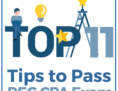 Top 11 Tips To Pass the REG CPA Exam
