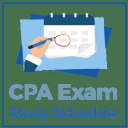 CPA Exam Study Schedule