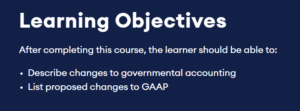 Learning Objectives Becker CPE